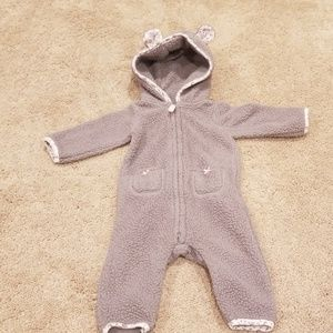 Baby coverall with ears,  size 6 mo